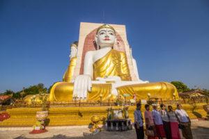 チャイプンパゴダ/Kyaik Pun Pagoda
